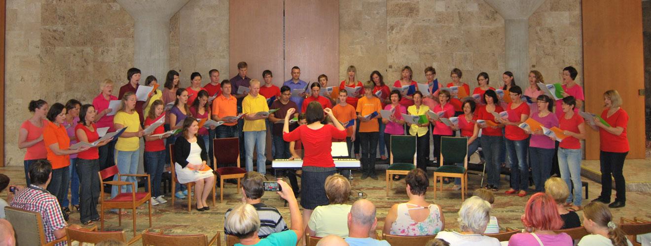 Zaključni koncert 5. Poletnih delavnic vokalne glasbe